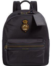 Ralph Lauren Purple Label Crest Backpack - Black