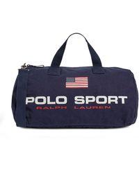 Ralph Lauren Logo Polo Sport Holdall - Blue