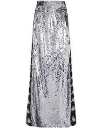 Faith Connexion - Kappa Sequin Skirt - Lyst