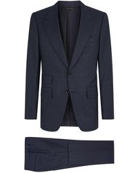 Tom Ford - Shelton Check Two-piece Suit - Lyst