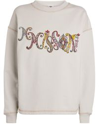 Missoni Paisley-logo Sweatshirt - Grey