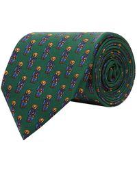Polo Ralph Lauren - Silk Bear Tie - Lyst