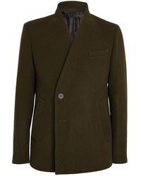 WOOYOUNGMI Wool-blend Blazer - Green