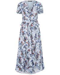 Markus Lupfer Elodie Cherub Garden Dress - Blue