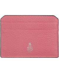 Mark Cross - Leather Card Case - Lyst