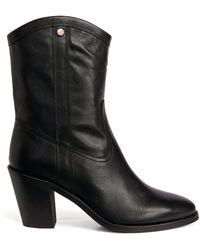 Claudie Pierlot Leather Boots - Black
