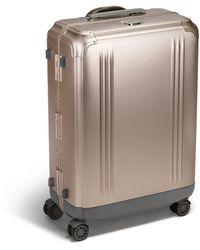 ZERO HALLIBURTON Aluminium Suitcase (66cm) - Metallic