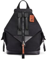 Loewe Convertible Backpack - Black