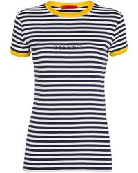 MAX&Co. Striped T-shirt - Blue