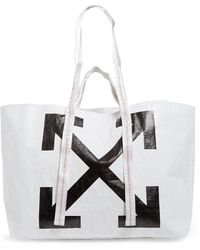 Off-White c/o Virgil Abloh - Arrows Commercial Tote Bag - Lyst