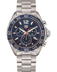 Tag Heuer Carrera 43mm Formula 1 Chronograph Watch - Blue