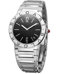 BVLGARI Stainless Steel Lady Watch 33mm - Black