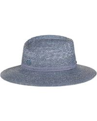 Maison Michel - Virginie Wide-brim Hat - Lyst