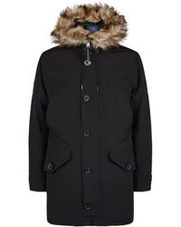 Ralph Lauren Overcoat Parka - Black