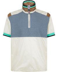 Lanvin - Windbreaker T-shirt - Lyst