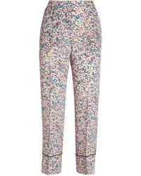N°21 Floral Pyjama Bottoms - Multicolour