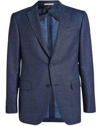 Pal Zileri Wool-blend Jacket - Blue