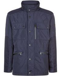 Hackett - Hooded Field Jacket - Lyst