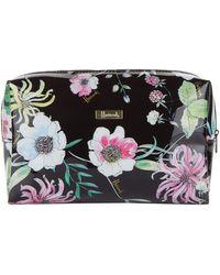 Harrods Alice Floral Cosmetic Bag - Multicolor