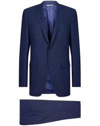 Canali - Can Sor Suit Wool Brdseye - Lyst