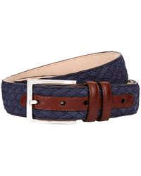 Harrods - Plaited Leather Belt - Lyst