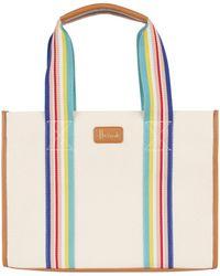 Harrods Dulwich Stripe Shoulder Bag - Multicolor