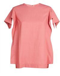 3.1 Phillip Lim Origami-sleeve Top - Pink