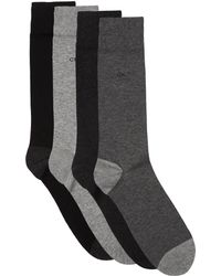 CALVIN KLEIN 205W39NYC - Combed Cotton Socks (pack Of 4) - Lyst