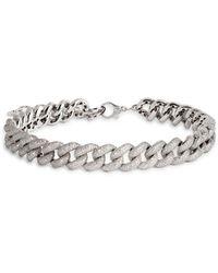 SHAY White Gold And Diamond Jumbo Links Necklace
