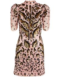Temperley London Embellished Candy Mini Dress - Multicolour