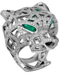 Cartier - Panthère 18ct White-gold - Lyst