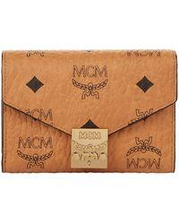 MCM - Patricia Three-fold Wallet - Lyst