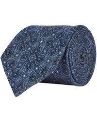 Eton of Sweden - Mosaic Print Silk Tie - Lyst