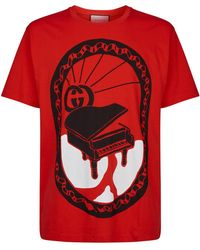 51fb2f5d0966 Gucci Fy Hypnotism T-shirt In Red in Red for Men - Lyst