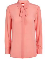 MAX&Co. Silk Blouse - Pink