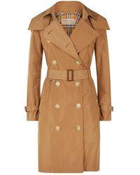 Burberry Kensington Heritage Trench Coat - Brown