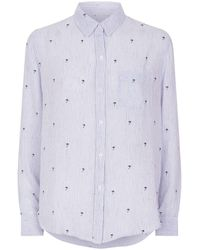 Rails - Charli Palms Stripe Shirt - Lyst