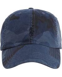 Ralph Lauren Polo Logo Cap - Blue