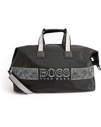 BOSS by Hugo Boss Logo Holdall - Grey