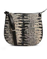 AllSaints Leather Round Elsworthcross-body Bag - Black