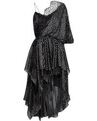 Faith Connexion - One Shoulder Lace Dress - Lyst