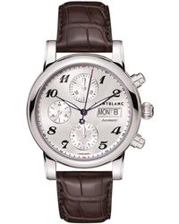 Montblanc - Star Chronograph Automatic Watch - Lyst