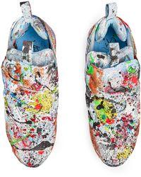 Vetements + Reebok The Masterpiece Instapump Fury Sneakers - Blue