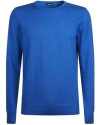 J.Lindeberg - Round Neck Wool Sweater - Lyst