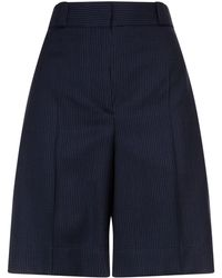 Burberry - Pin Dot Tailored Shorts - Lyst