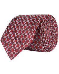 Eton of Sweden - Textured Circle Tie - Lyst