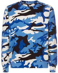 Sandro - Camouflage Print Sweater - Lyst