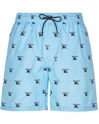 Burberry - Archive Logo Swim Shorts - Lyst