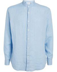 BLUEMINT Linen Eric Shirt - Blue