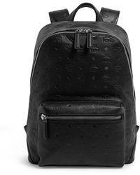 MCM Visetos Duke Backpack - Black